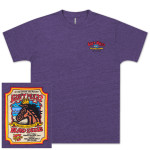 Gov't Mule Island Exodus 2014 Purple T-Shirt