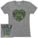 Gov't Mule Island Exodus 2014 Ladies T-Shirt
