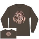 Gov't Mule Brown Shout! Long-Sleeve T-Shirt