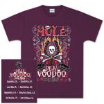 Gov't Mule 2005 Spring Tour Deja Voodoo T-Shirt
