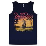 The Beach Boys Indian Sunset Tank Top on Navy