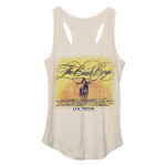 Beach Boys Sunset Logo Junior Tank Top