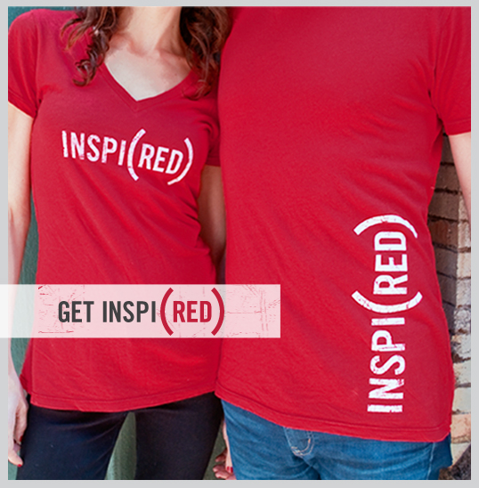 INSPI(RED) Shirts by (RED)