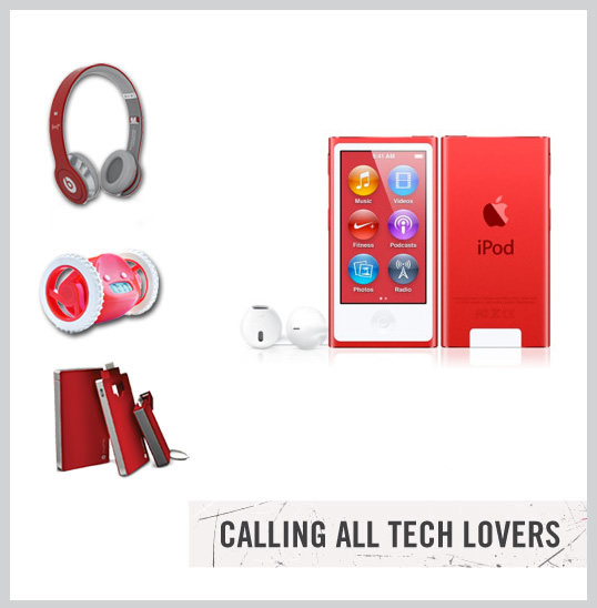 (RED) Tech Lovers