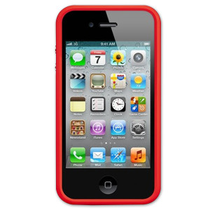 Apple (PRODUCT)<sup>RED</sup> iPhone 4/4s Bumper Case