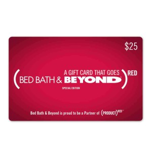 (BED BATH &amp; BEYOND)<sup>RED</sup> Gift Card