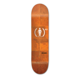 Girl (PRODUCT)<sup>RED</sup> Special Edition Mike Carroll Skateboard Deck