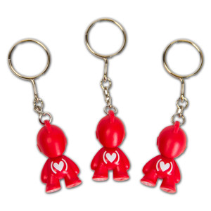 Kidrobot (PRODUCT)<sup>RED</sup> Special Edition Bot Keychain
