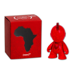 Kidrobot (PRODUCT)<sup>RED</sup> Special Edition 3&quot; Vinyl Figure