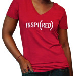 INSPI(RED) Ladies T-Shirt by (RED)