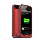 mophie (PRODUCT)<sup<RED</sup> Special Edition juice pack air - iPhone 5