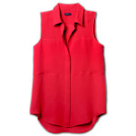 Theory (PRODUCT)<sup>RED</sup> Special Edition Women's Duria Shirt in Double Georgette Silk&#xA;