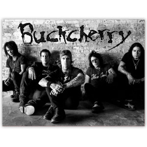 Buckcherry AUTOGRAPHED Wall Litho