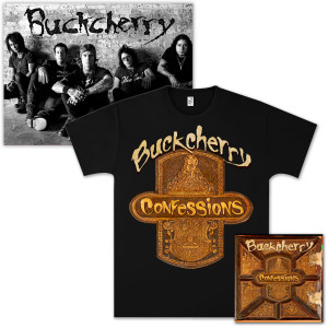 Buckcherry Confessions Platinum CD Bundle
