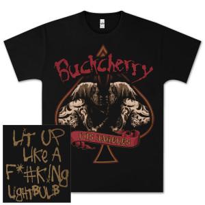 Buckcherry Spade Lit Up T-Shirt