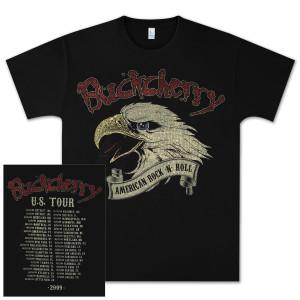 Buckcherry American Rock-N-Roll 2009 U.S. Tour T-Shirt