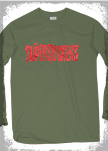 Supersuckers Green Long Sleeve T-Shirt