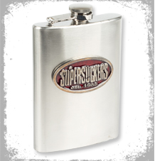 Supersuckers Hip Flask
