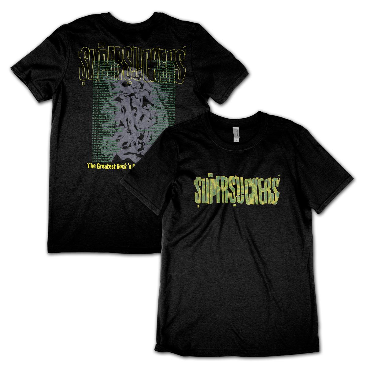 Supersuckers Green Cracked Logo T-Shirt