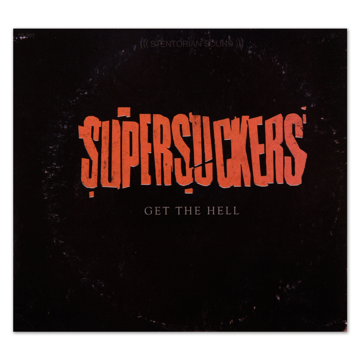 Supersuckers Get The Hell CD