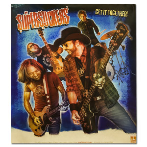 "Supersuckers Get It Together 18"" x 20"" Limited Edition Poster"