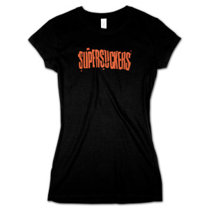 Supersuckers Cracked Logo Ladies T-Shirt