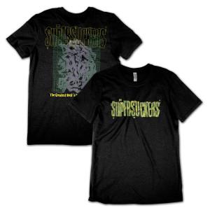 Green Cracked Logo T-Shirt