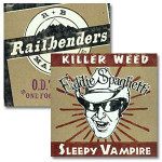 Eddie Spaghetti/Railbenders Split Single CD