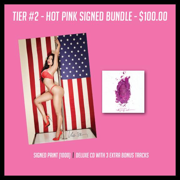 Hot Pink Signed Bundle