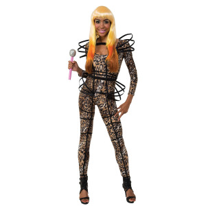Nicki Minaj Leopard Suit Costume