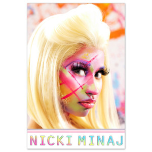 Nicki Minaj Face Drip Poster