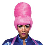 Nicki Minaj Pink Bun Wig