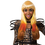 Nicki Minaj Leopard Look Wig