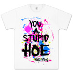 Nicki Minaj Stupid Hoe T-Shirt