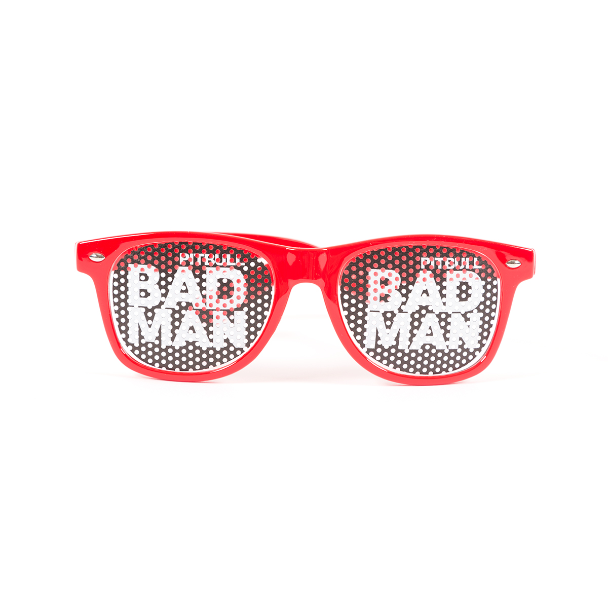 Pitbull Red Bad Man Sunglasses