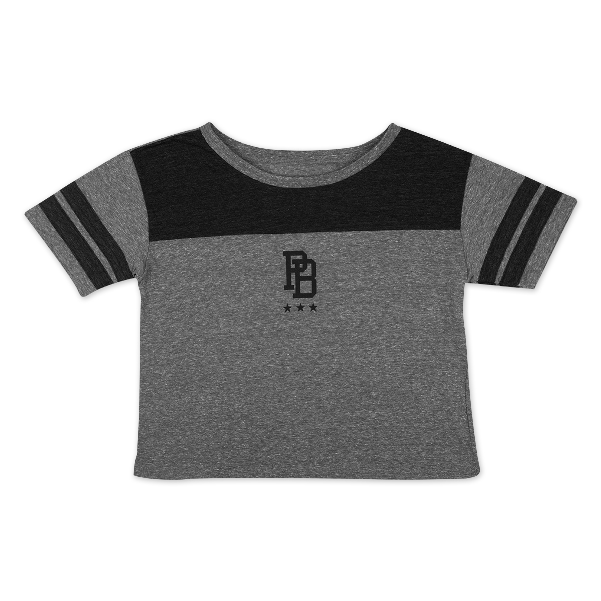 Ladies Crop Top DALE 81 Black Details