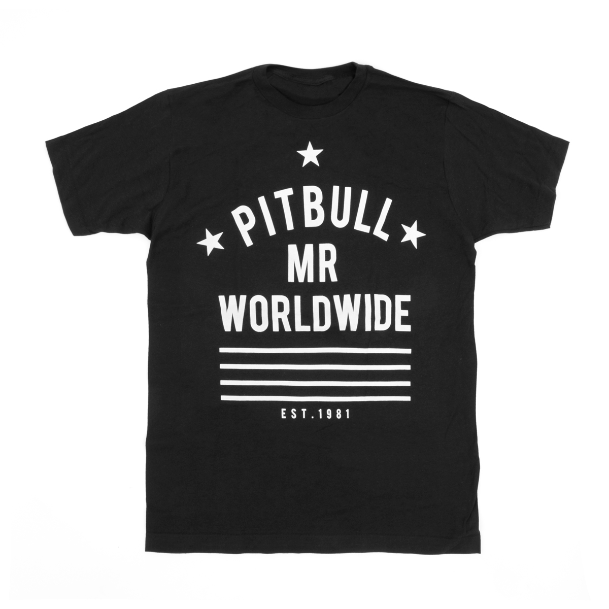 Pitbull Mr Worldwide T Shirt Shop The Pitbull Official Store