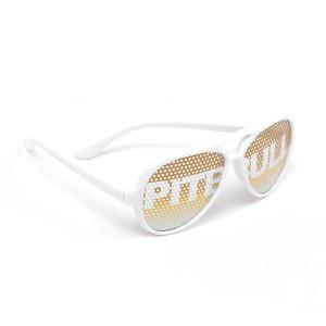 White Logo Sunglasses