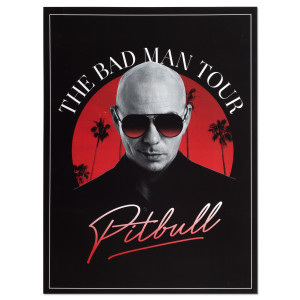 The Bad Man Tour Poster