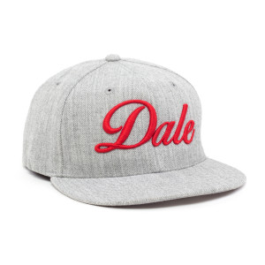 Dale Hat - Grey and Red