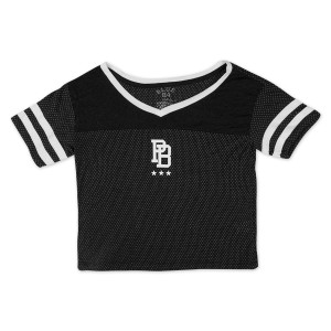 Ladies Crop Top DALE 81 on Back Mesh Jersey
