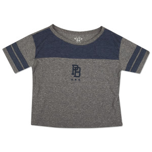Ladies Crop Top DALE 81 Navy Details