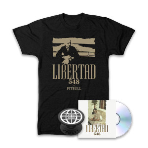 Libertad 548 Shirt + CD + Popsocket Bundle