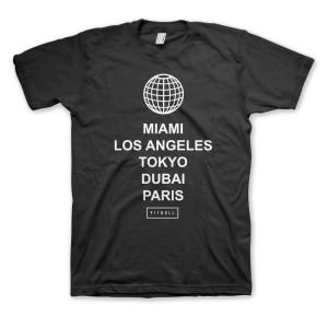 PITBULL Cities Men's T-Shirt