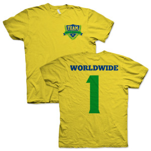 PITBULL Team Shirt - Yellow