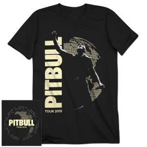 PitBull 2015 Tour Tee