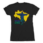 PITBULL WE ARE ONE Women's T-Shirt - Black