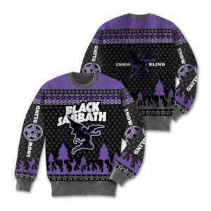 Black Sabbath Snow Blind Sweater