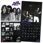 Black Sabbath Official 2014, 18 Month Calendar