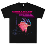 Black Sabbath Paranoid Motion Trails T-Shirt